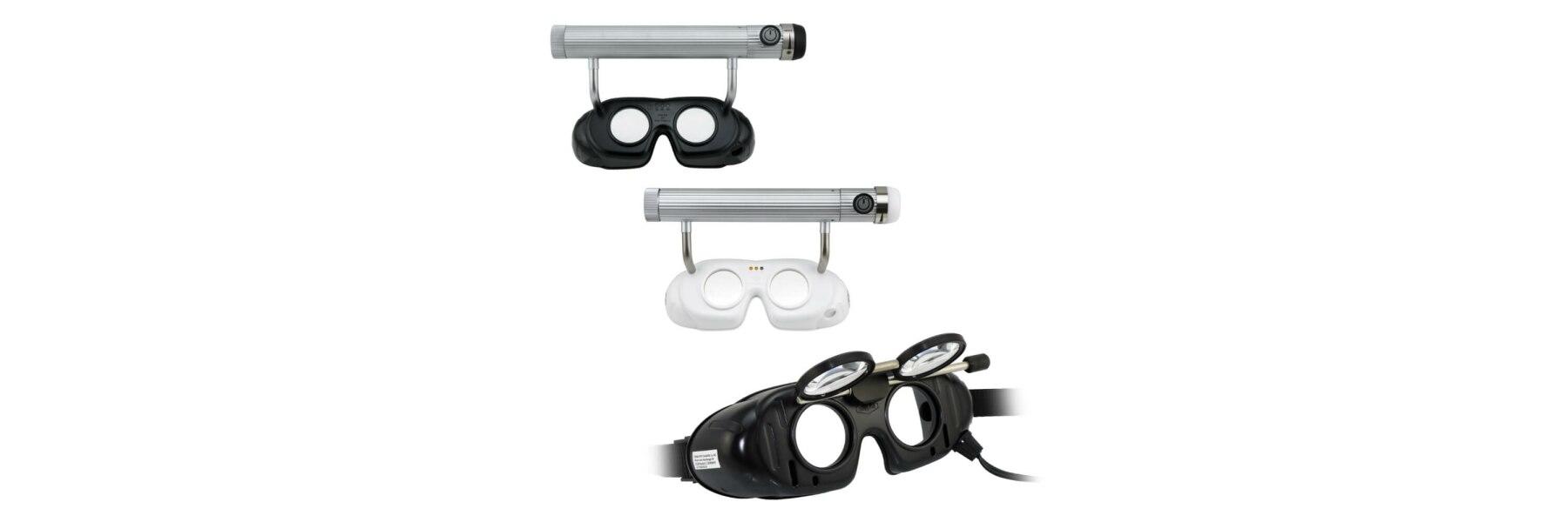 Frenzelbrille / Nystagmusbrille