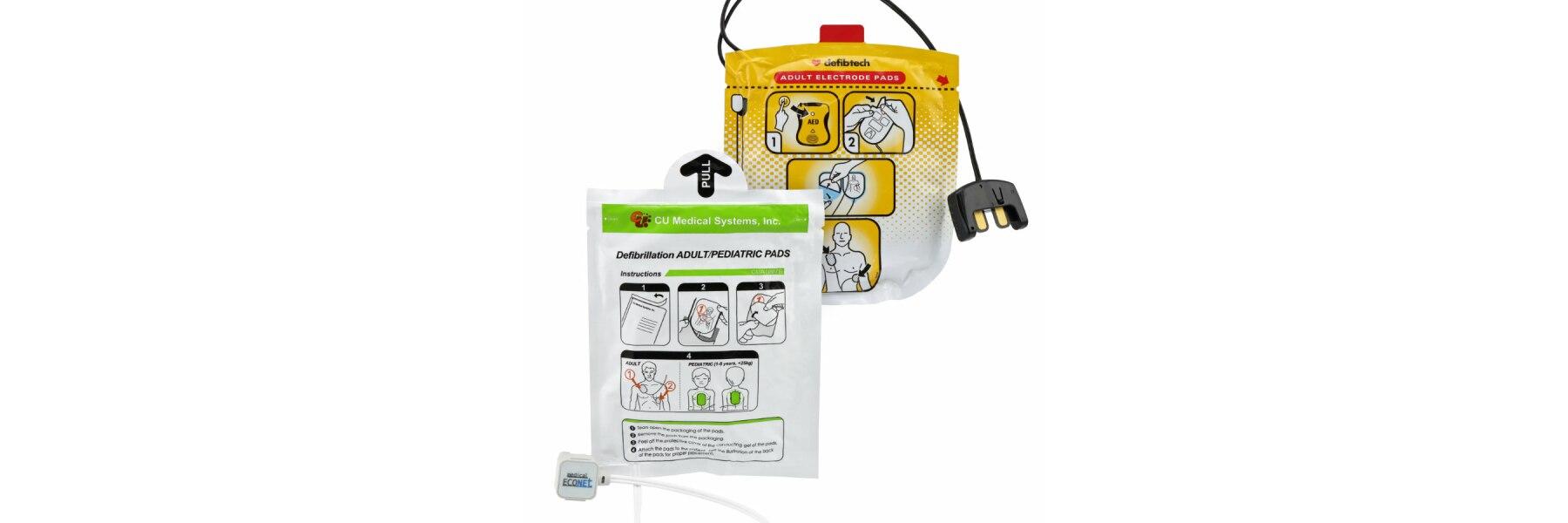 Defibrillator Pads & weiteres Zubehör