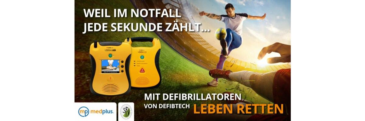 Herzsicherheit im Sport - Herzsicherheit im Sport - Defibrillatoren für Vereine