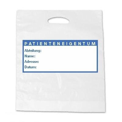 Tragetaschen Patienteneigentum 250 Stück
