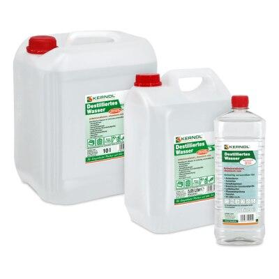 Aqua Dest einfach destilliertes Laborwasser