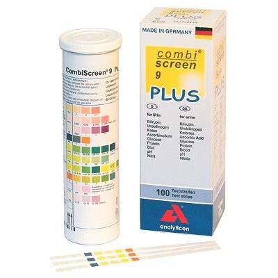 CombiScreen 9 PLUS Urinteststreifen, visuell, 100 Stück
