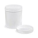 Schraubdose Salbendose, 500 g / 625 ml, weiß
