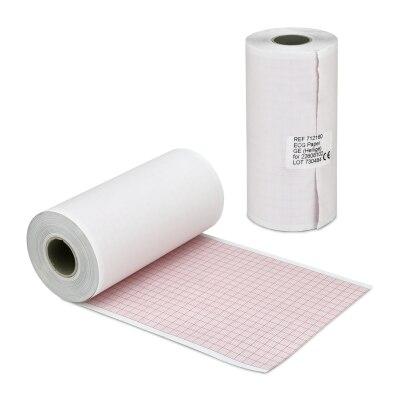 EKG Papier für Hellige EK26/27t 110mmx50m