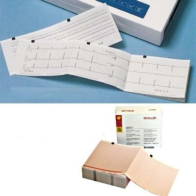 EKG Papier für Schiller Cardiovit AT-10 plus, 210mm x 140m