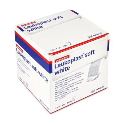 Leukoplast soft white 1,9 x 4 cm, 500 Stück