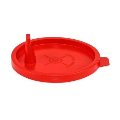 Deckel für Urinbecher, rot 100 Stück