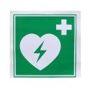 Defib AED Vinyl-Aufkleber