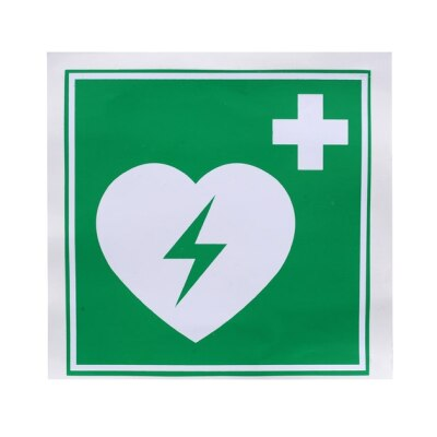 AED Kunststoff Schild