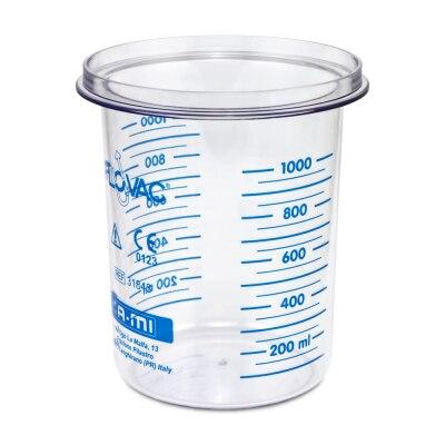 Sekretbehälter Flovac 1000 ml für Kataspir Sekretsauger