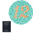 Farbtafeln Ishihara, 14 Tafeln