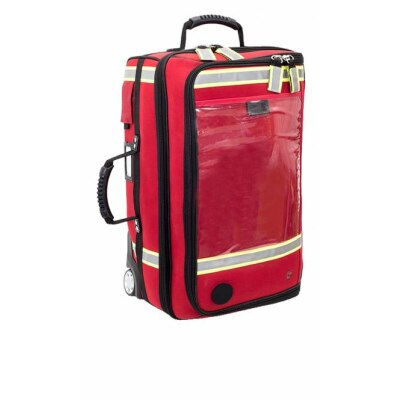 ELITE-BAGS EMERAIRS TROLLEY Beatmungskoffer rot