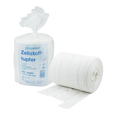 Zellstofftupfer 4 x 5 cm, 1000 Stück