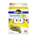 Quadra 3D boys Wundverband, 20 Stück
