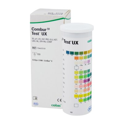 Combur-10-Test UX, 100 Tests