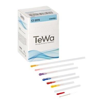 TeWa-Akupunkturnadeln, Kupfergriff, mit Führrohr