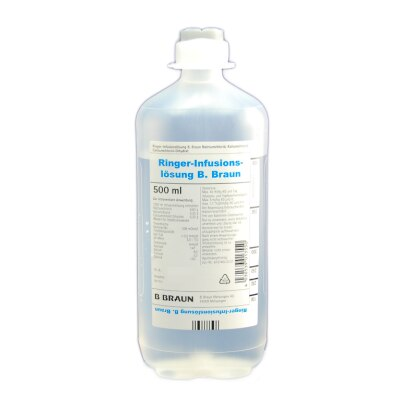 Ringer Infusionslösung Ecoflac Plus, 10 x 500 ml