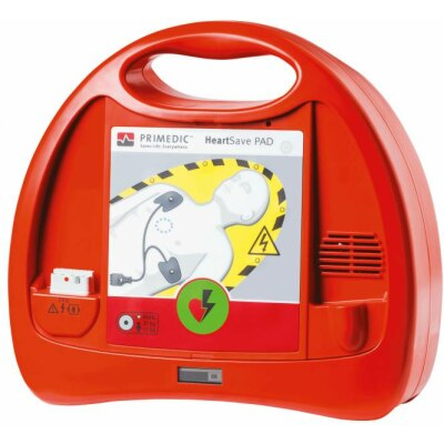 Primedic HeartSave PAD Defibrillator, halbautomatisch