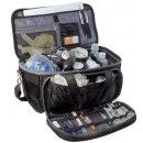 Arzttasche Softbag schwarz 19,5l Volumen ELITE-BAGS GPS Pro