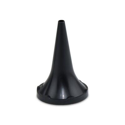 Ohrtrichter, Tips, Einmaltrichter 50 Stück schwarz Heine