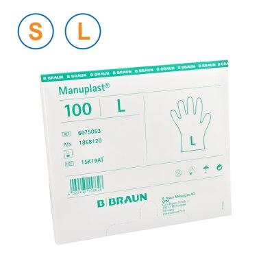 Einmalhandschuhe Manuplast, unsteril, 100 Stück