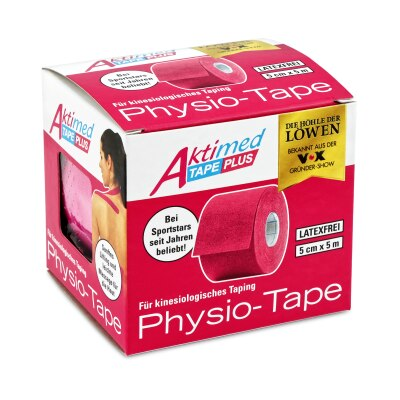 Aktimed Tape Plus, kinesiologisches Tape | pink