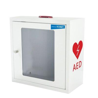 Wandkasten, mit Alarm, für ME-PAD Defibrillatoren