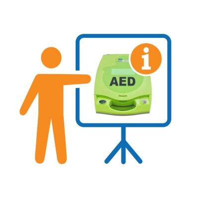Vor-Ort-Einweisung in Zoll Defibrillator