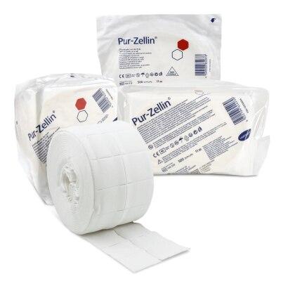 Zellstofftupfer Pur Zellin, 4 x 5 cm, 500 Stück