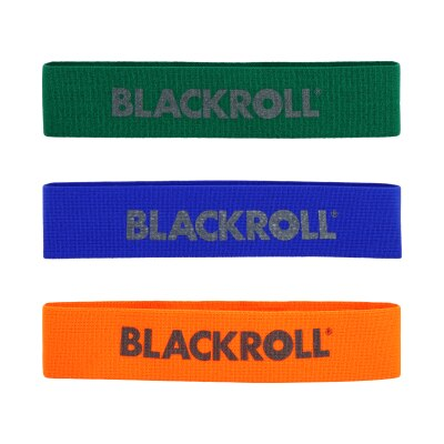 Blackroll Fitnessband 3er Set