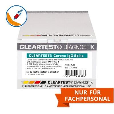 Cleartest Corona Antikörpertest