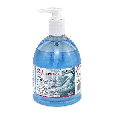 Unigloves Händedesinfektion Plus mit Duft, 500 ml