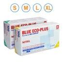 Ampri Nitril Einmalhandschuhe Blue Eco-Plus, 100 Stück