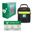 Lifeline AED Auto Wandschrank-Set