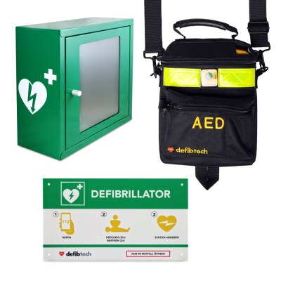 Defibtech Lifeline VIEW AED Wandschrank-Set