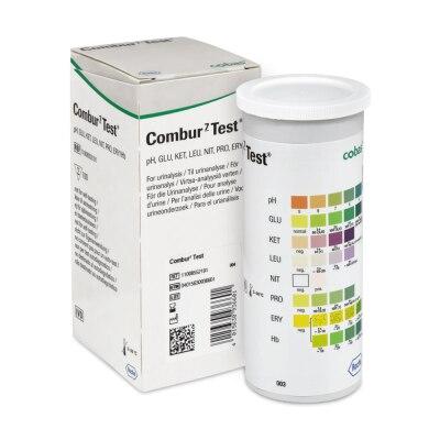 Combur 7 Urintstreifen, 100 Stück
