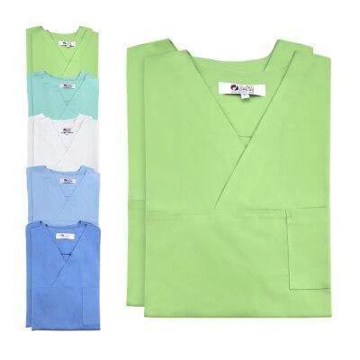 Clinic Dress Unisex-Kasack, Doppelpack