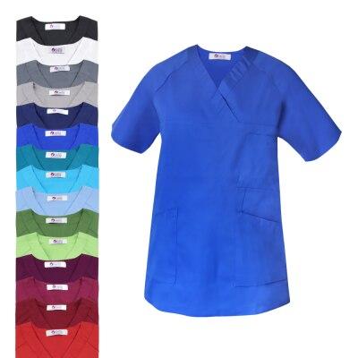 Clinic Dress Damen Schlupf - Kasack, Brusttasche