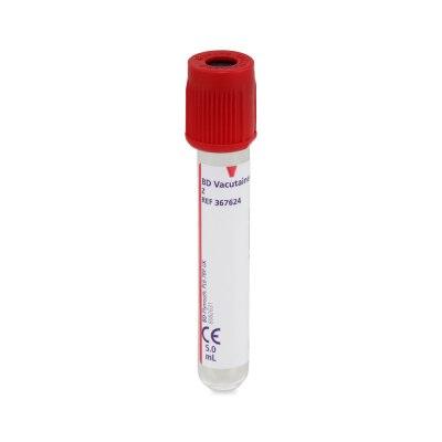BD Vacutainer Serumröhrchen aus Glas, 5 ml