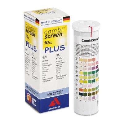 CombiScreen 10 SL PLUS Urinteststreifen, 100 Stück