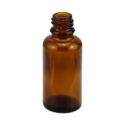 Tropfflasche Braunglas 30 ml ohne Verschluss