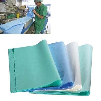 Sterilisierpapier 50 x 50 cm, weiß, gekreppt