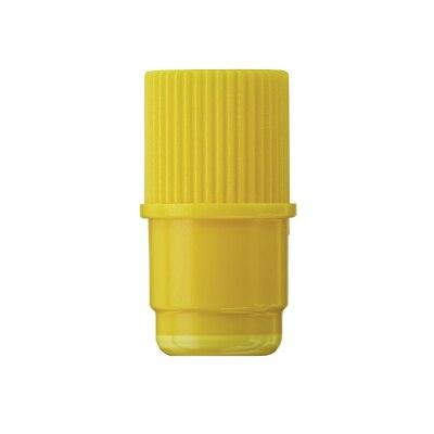 Injekt Stopfen, Luer-Lock, gelb, 100 Stück