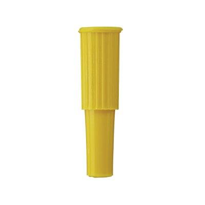 Steck Stopfen, gelb, 100 Stück