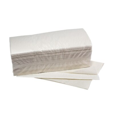 Papierhandtücher aus Altpapier, 24 x 23 cm, 2-lagig, 3072 Stück