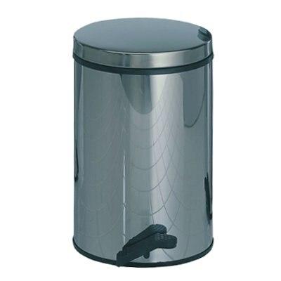 Abfalleimer aus Edelstahl, 13 Liter