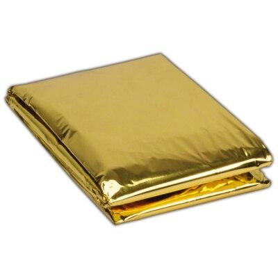 Rettungsdecke Gold/Silber, 210 x 160 cm