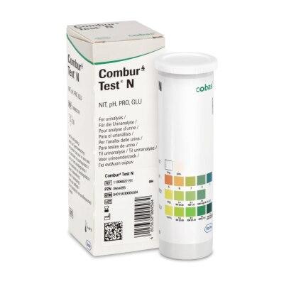 Combur 4 N Urinteststreifen, 50 Stück, visuell