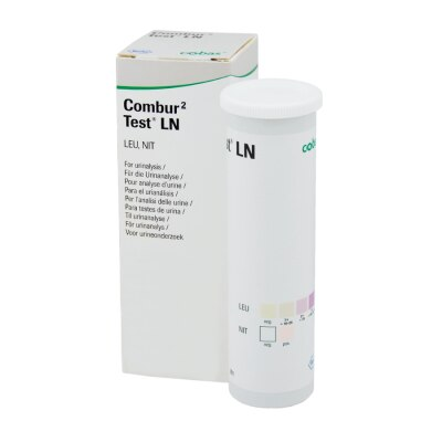 Combur 2  LN Urinteststreifen, 50 Stück, visuell