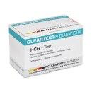 Cleartest HCG Schwangerschafts-Teststreifen, 20 Stück